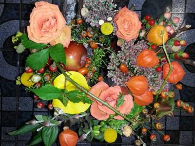Салон цветов камелия оформление