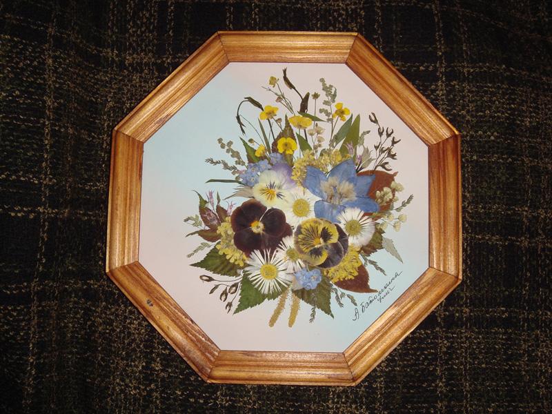 Картины из сухоцветов своими руками фото пошагово 56