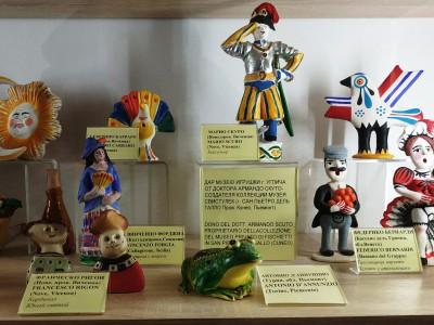 Подарок музею народной игрушки  из Италии