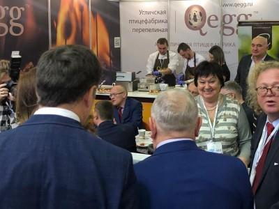 Гастрономические бренды Угличской перепелиной фабрики принимают участие в крупнейшей международной продовольственной выставке