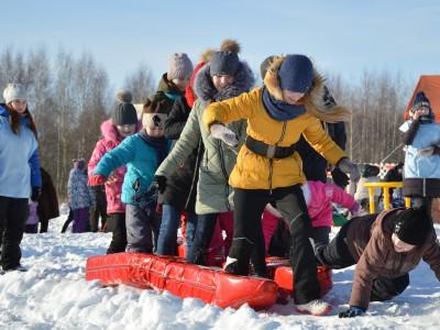«Вместе теплее» на XIII фестивале активного семейного отдыха «Зимние забавы в Угличе»