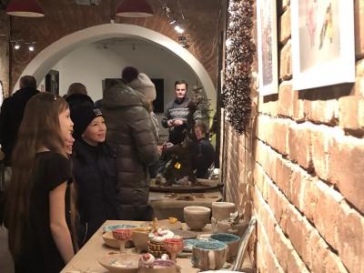 Новогоднее настроение в Угличе на выставке «Чайные сказки»