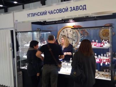 Угличский Часовой Завод принял участие в крупнейшей Международной выставке