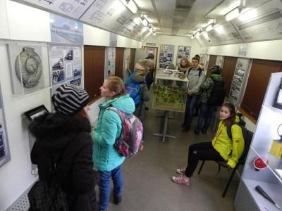 Информационный поезд Октябрьской железной дороги посетит Углич
